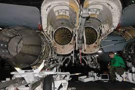 fileus navy 060627 n 5024r 002 aviation structural mechanic equipment 2nd class greg harman conducts a 600 hour periodic maintenance check on a jet engine turbine engine mechanic