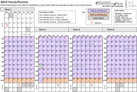 2019 Term Dates — Wollongong Conservatorium of Music