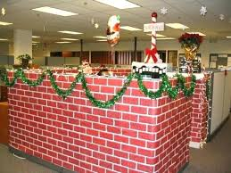 office xmas decorations. Office Xmas Decorations Cubicle Gingerbread House Simple For