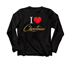 I Love CHRISTmas Tee - <b>Black</b>, <b>Red, Gold</b> — The Bretts Show
