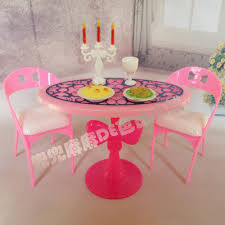 Barbie dollhouse furniture sets Barbie Dream House Hot Sale Doll House Miniature Furniture Dining Table Sets For Barbie Doll Graceful Stylish Retro Girl Kid Child Toys Aliexpresscom Hot Sale Doll House Miniature Furniture Dining Table Sets For Barbie