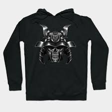 Awkward Styles Black Samurai Skull T Shirt Day Of The Dead Shirt