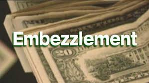 Image result for embezzlement photo