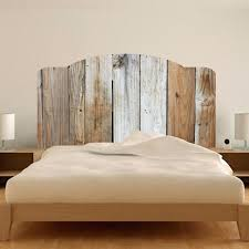 quick view headboard wall decal twin rustic bed mural p