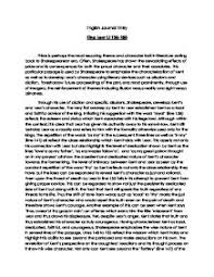 king lear act scene analysis international baccalaureate page 1 zoom in