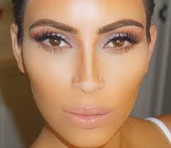 kim kardashian contour makeup