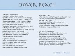 beach poems dover beach