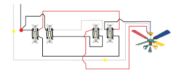 3 way switch wiring diagram multiple lights and ripping for three way light switch schematic at 3 Way Switch Multiple Lights Wiring Diagram