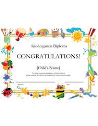 Free Printable Kindergarten Diploma Kindergarten Diplomas