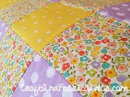 Make In A Day Baby Quilt - free fully illustrated instructions ... & Fully illustrated instructions for creating a beautiful crib quilt inch by  inch. Adamdwight.com
