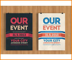 Graphic Design Event Flyers Templates For Event Flyers Zimer Bwong Co