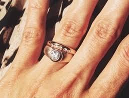 gretchen jones enement and wedding ring set by kate jones of ursa major jewelry