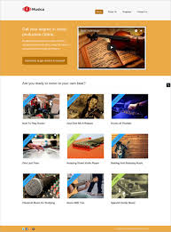 Website Templates Wordpress Classy 28 Music Website Themes Templates Free Premium Templates