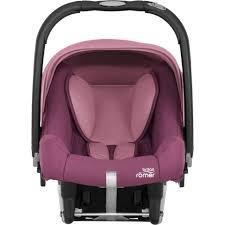 britax römer infant car seat baby safe plus shr ii wine rose 2018 large image