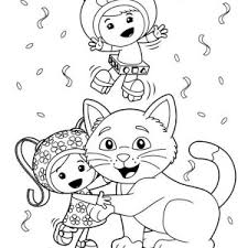 Small Picture Team Umizoomi Beloved Car Coloring Page Color Luna