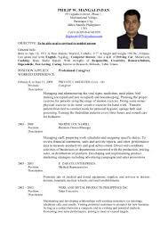 Cover Letter 7 Curriculum Vitae Format For Job Application Pdf New