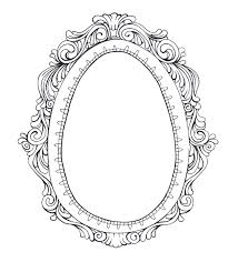 vintage mirror drawing. Vintage Mirror Drawing