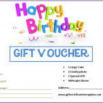 Birthday Gift Certificate Templates By Www Tcertificatetemplates I