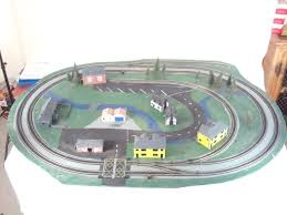 auction track the harris auction group hornby track layout with scenery and
