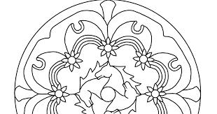 Creatief Van A Tot Z Mandala Voor De Paardengek