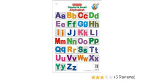 Amazon In Buy Educational Charts Capital Small Alphabet