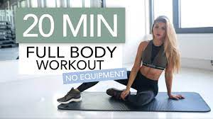 20 min full body workout no