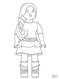 Coloring Pages American Girl Doll Coloring Pages Free Printable Of