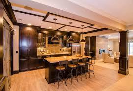 Beautiful Family Home With Open Floor Plan Home Bunch Interior Custom Interior Design Basement Plans