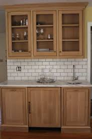 Light Maple Modern Kitchen Cabinets White Ish Granite Counters