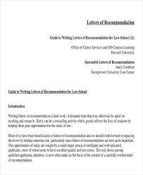 Sample Recommendation Letter Law School Calmlife091018 Com