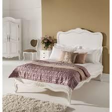 single bed size design. Paris Antique French Bed (Size: Single) + Bedside Chest Of Single Size Design