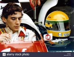 AYRTON Senna, Ayrton Senna, 2010 Stockfotografie - Alamy