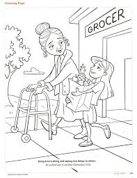 Small Picture Kindness Coloring Page Fruits of the Spirit Kindness Summer