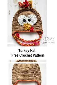 Crochet Turkey Hat Pattern Custom Inspiration Ideas