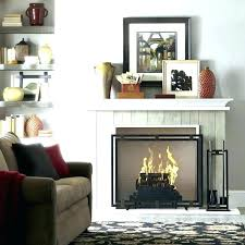 ceramic logs for wood burning fireplace gas with blower replacement l on vent ventless log insert