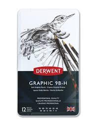 <b>Набор чернографитных карандашей</b> Graphic Soft 12шт 9B-H в ...