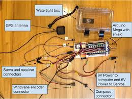 rc model boat wiring rc image wiring diagram onboard electronics robosail model boat competition and regatta on rc model boat wiring
