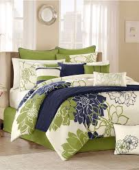 green bed in a bag comforter sets windsor home 7 piece and white throughout idea 3