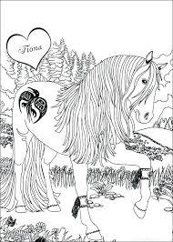 Horses Coloring Pages Horses Coloring Pages The Magical Horse