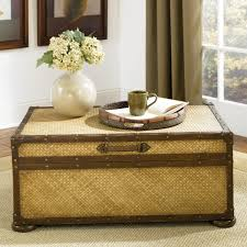 Hammary Hidden Treasures Trunk Coffee Table Trunk Cocktail Table Charlton Bischoptree Storage Trunk Coffee