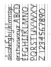 Calligraphy Strokes Chart Begin The Lesson This Is A Sample Mini Lesson To Print Out