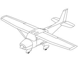 Licht Vliegtuig Kleurplaat Gratis Kleurplaten Printen