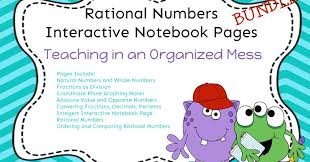 Rational Numbers Venn Diagram Worksheet Teaching In An Organized Mess Interactive Notebook Pages Rational