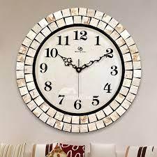 large wall clocks round 16 inch unusual