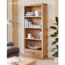 mobel oak wall rack cor07b. Mobel Oak Large 3 Drawer Bookcase Wall Rack Cor07b