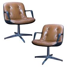 interesting pair of style brown leather executive chairs office design santana black high back executive office
