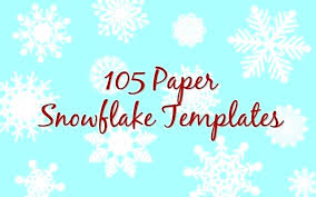 Greeting Card Template With Falling Snow And Snowflake