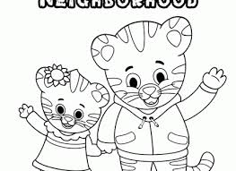 Small Picture Daniel Tiger Coloring Pages Pdf Coloring Pages Ideas