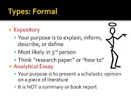 Define Expository Essay Define Expository Essay