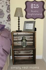 diy end tables with step by step tutorials diy rustic nightstand and easy end table projects and plans wood storage pallet